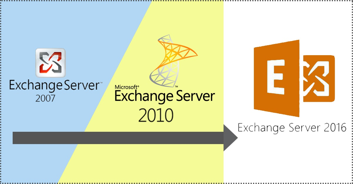 How to migrate from exchange 2007/2010 to 2016