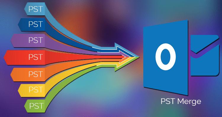 Merge PST files using PST Merge Software
