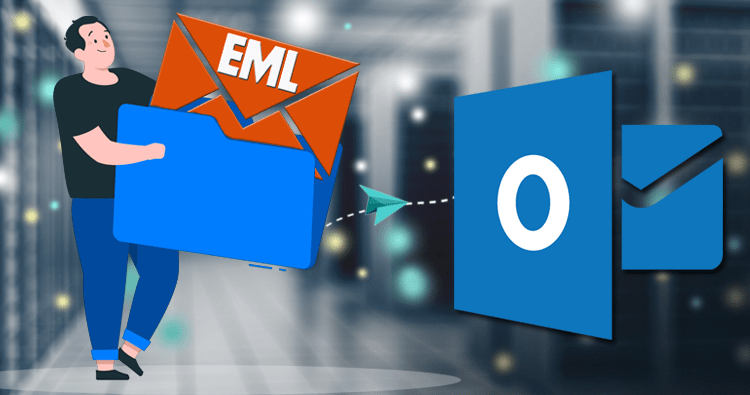 Converting EML to PST with the help of EML to PST converter