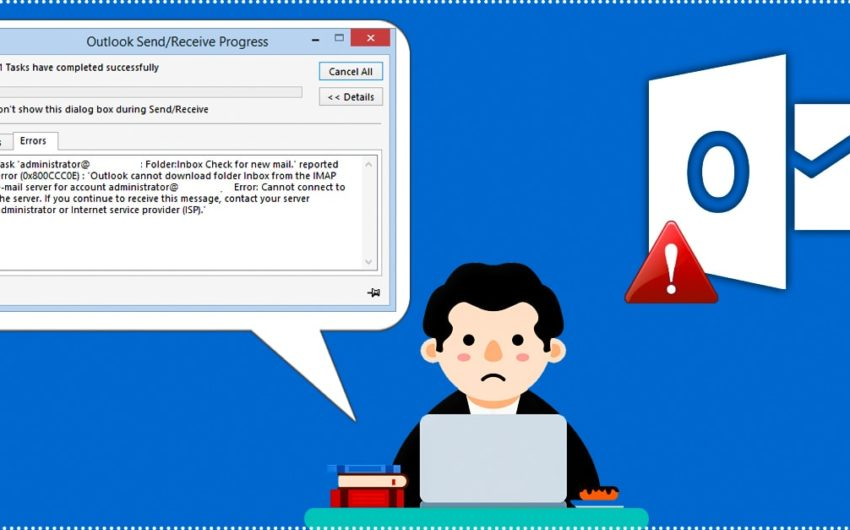 The best way to fix Outlook Error 0x800ccc0e