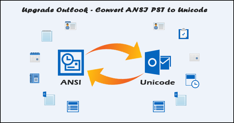 upgrade Outlook pst file