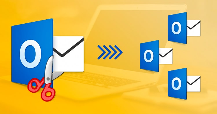 How to Split Outlook PST file size in two ideal ways