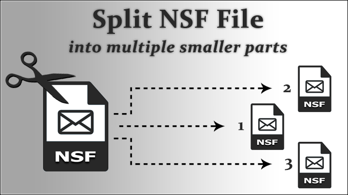 split nsf file
