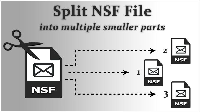 split nsf file