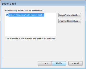 Manual way to convert NSF to PST - Step7