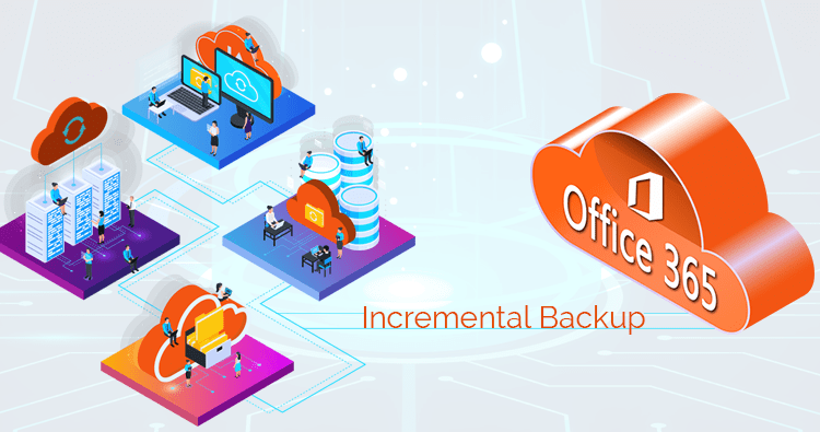 Incremental backup of Office 365