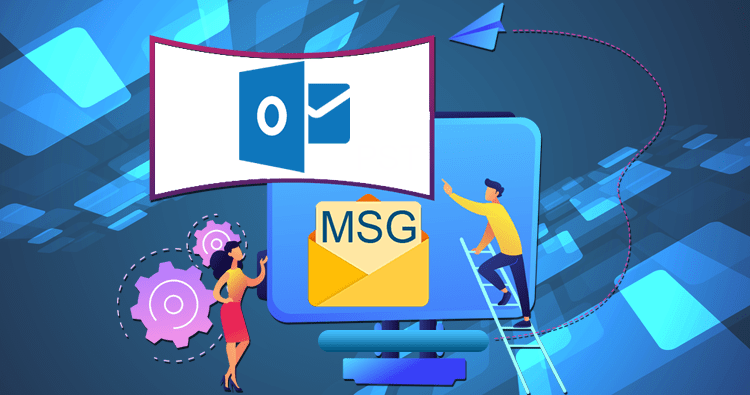 Two Free Methods to Convert MSG to PST File