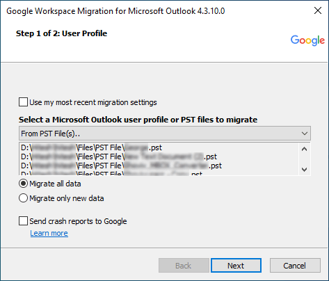 Import MBOX into Gmail 03