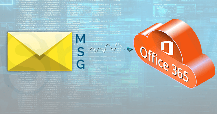 How to import MSG to Office 365