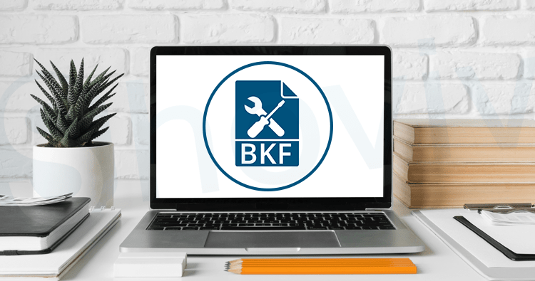 How to recover BKF file