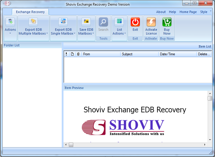 Newly Updated EDB to PST Converter