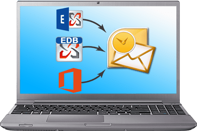 Export source mailboxes in PST