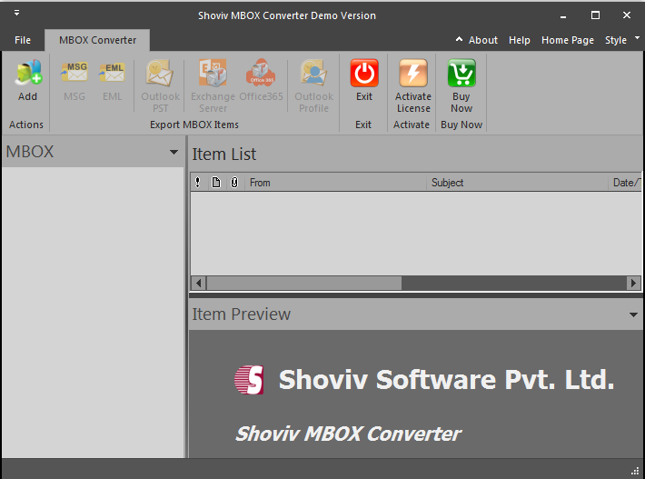 Windows 7 Convert MBOX to PST 18.03 full