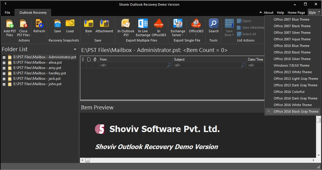 outlook recovery tool to recover corrupted pst files pst recovery